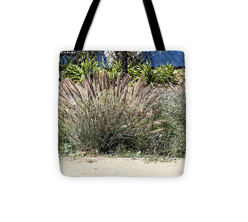 Landscape Tote Bag featuring the photograph 930 Pr Cattails by Chris Berry