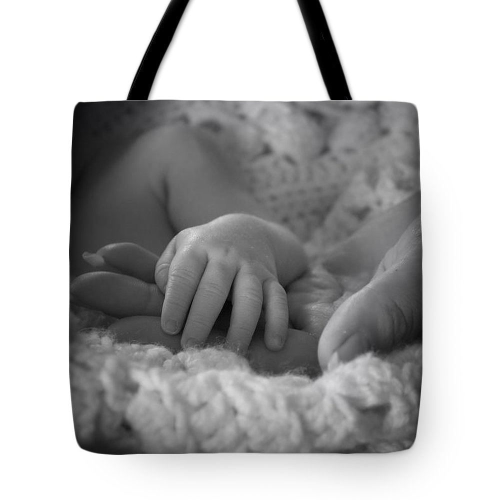 Bambino Tote Bag featuring the photograph A Bambino's Trust by Thomas Woolworth