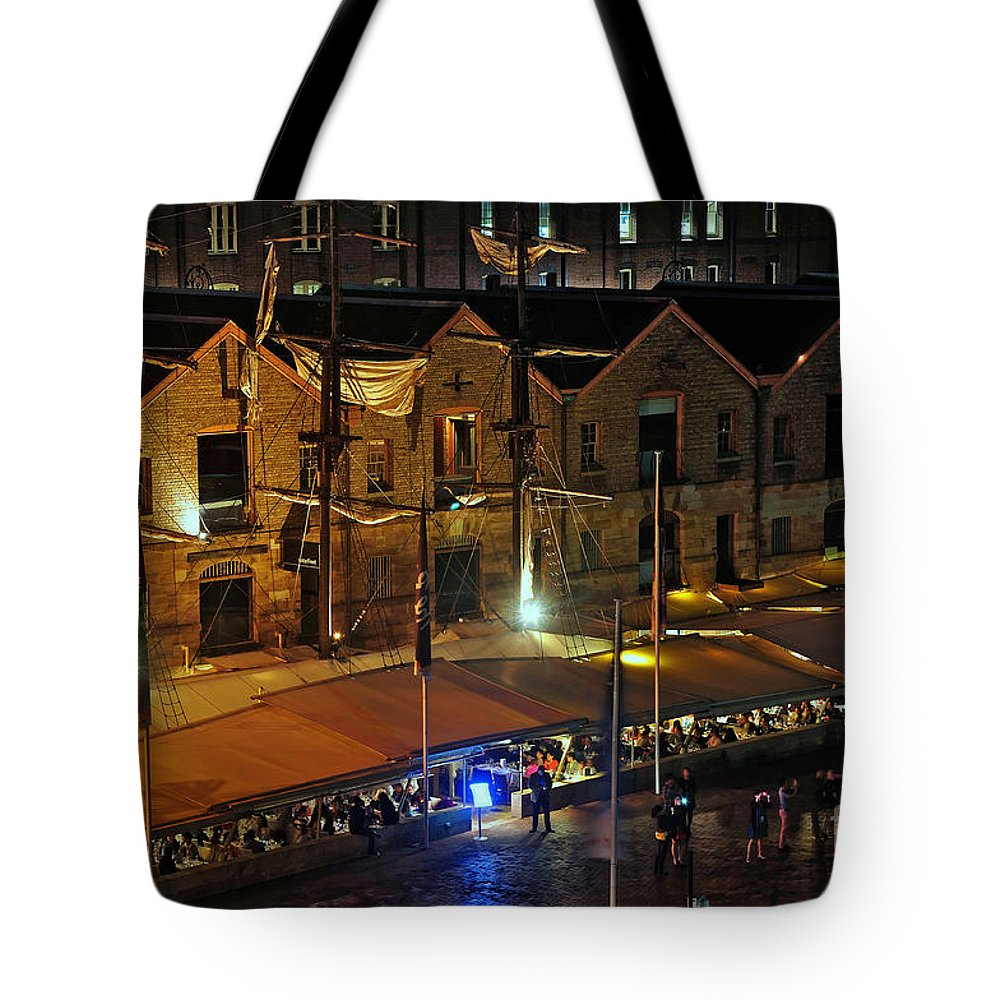 Photography Tote Bag featuring the photograph A Beautiful Dining Ambience by Kaye Menner
