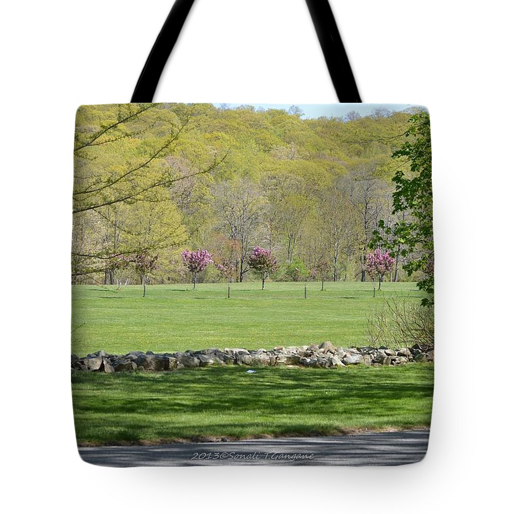 A Beautiful Landscape Tote Bag featuring the photograph A Beautiful Landscape by Sonali Gangane