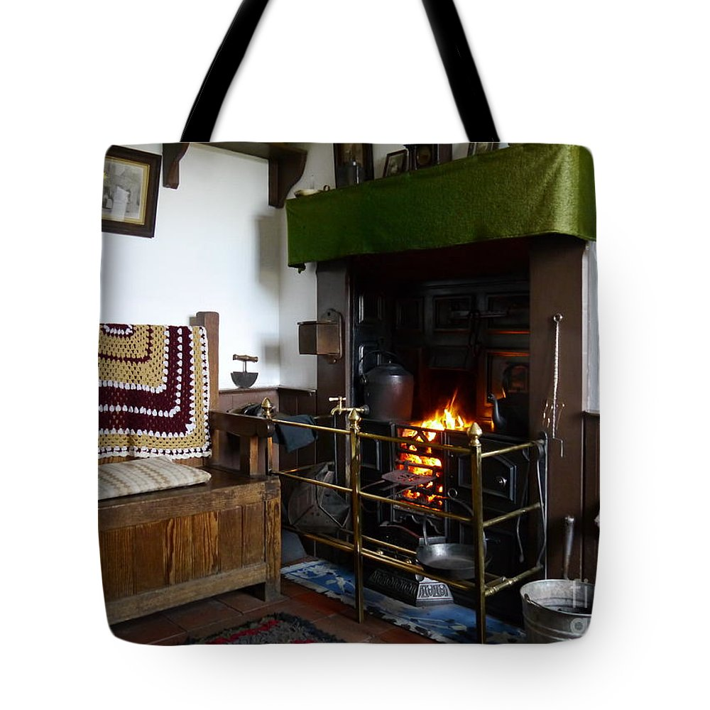 Black Country Tote Bag featuring the photograph A Cosy Corner 2 by John Chatterley