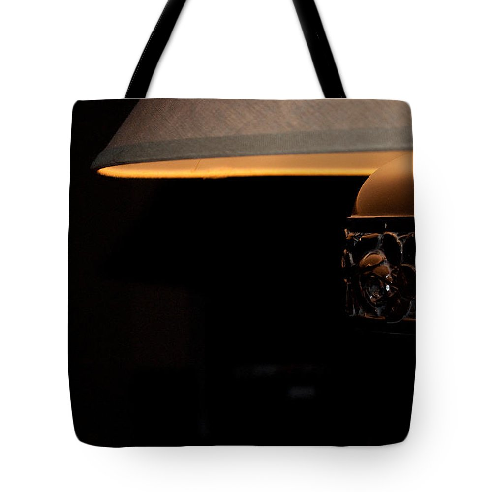 Fine Tote Bag featuring the photograph A Good Book A Glass Of Wine by Paulette B Wright