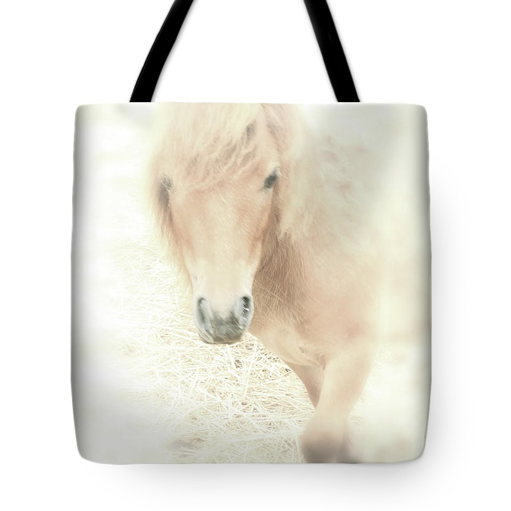 Horse Tote Bag featuring the photograph A Horse's Spirit by Karol Livote