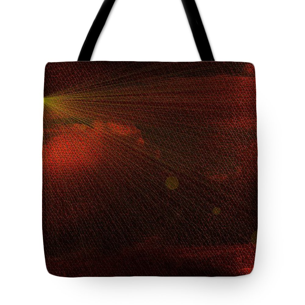Tote Bag featuring the photograph A Light Show by Jeff Swan