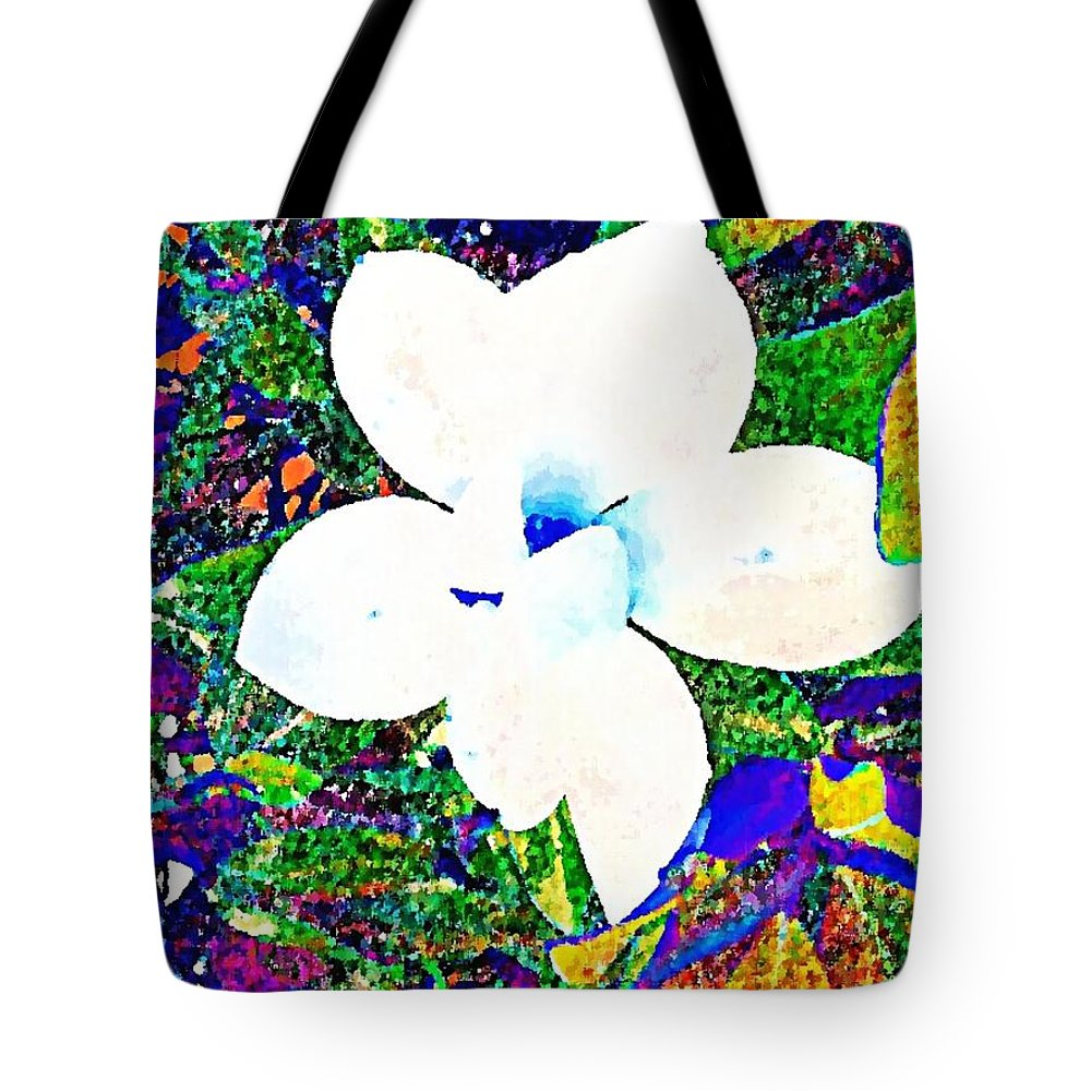 Digital Art Tote Bag featuring the digital art A Little Bit Of Sunshine by Tina Vaughn
