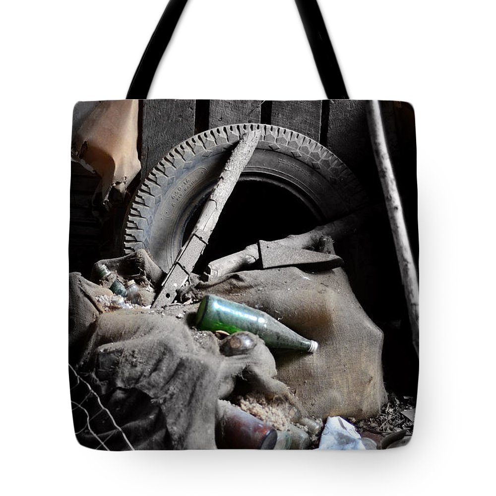 Antiques Tote Bag featuring the photograph A Little Of This And A Little Of That by La Dolce Vita