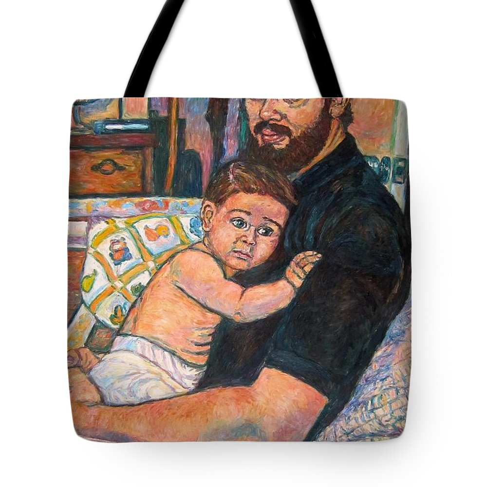 Portrait Tote Bag featuring the painting A Naturalist's Legacy by Kendall Kessler