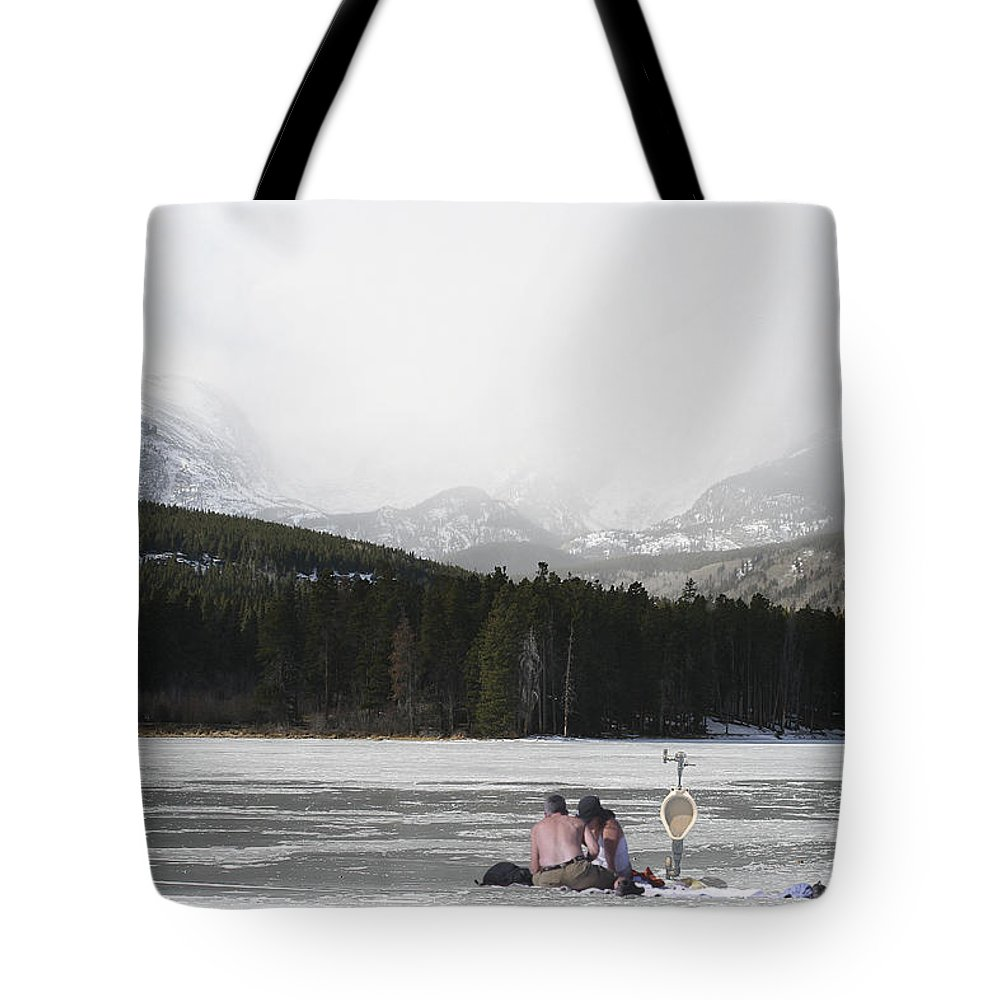 Montages Tote Bag featuring the photograph A Perfect Picnic by Greg Wells