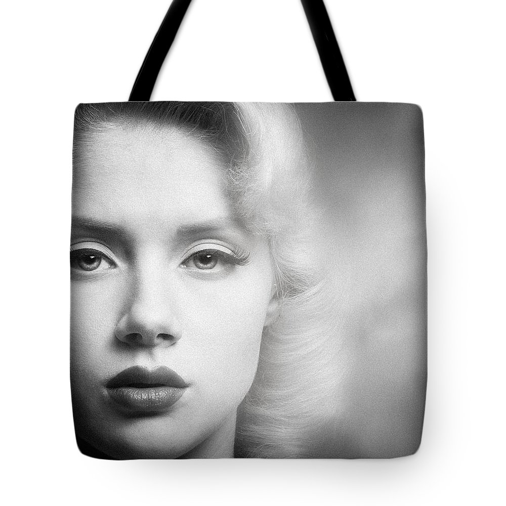 Portrait Tote Bag featuring the photograph a place in time Mosh by Gary Heller