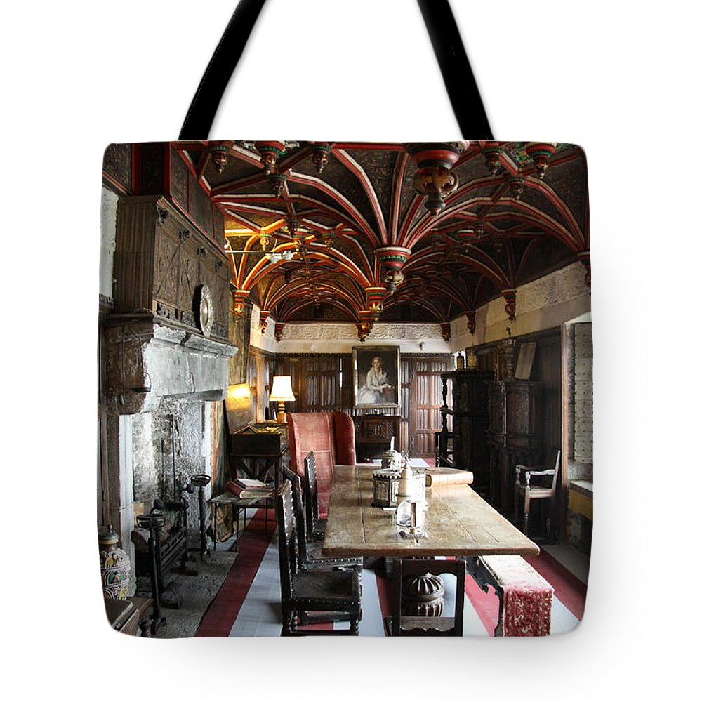 Room Tote Bag featuring the photograph A Room In Bunratty Castle by Christiane Schulze Art And Photography