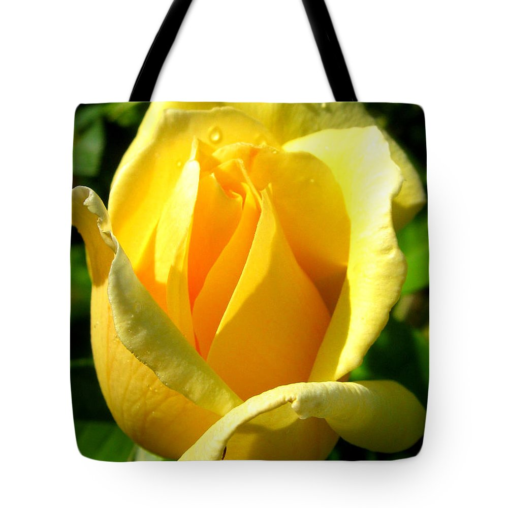 Landscape Tote Bag featuring the photograph A Rose For My Friend by Janice Westerberg