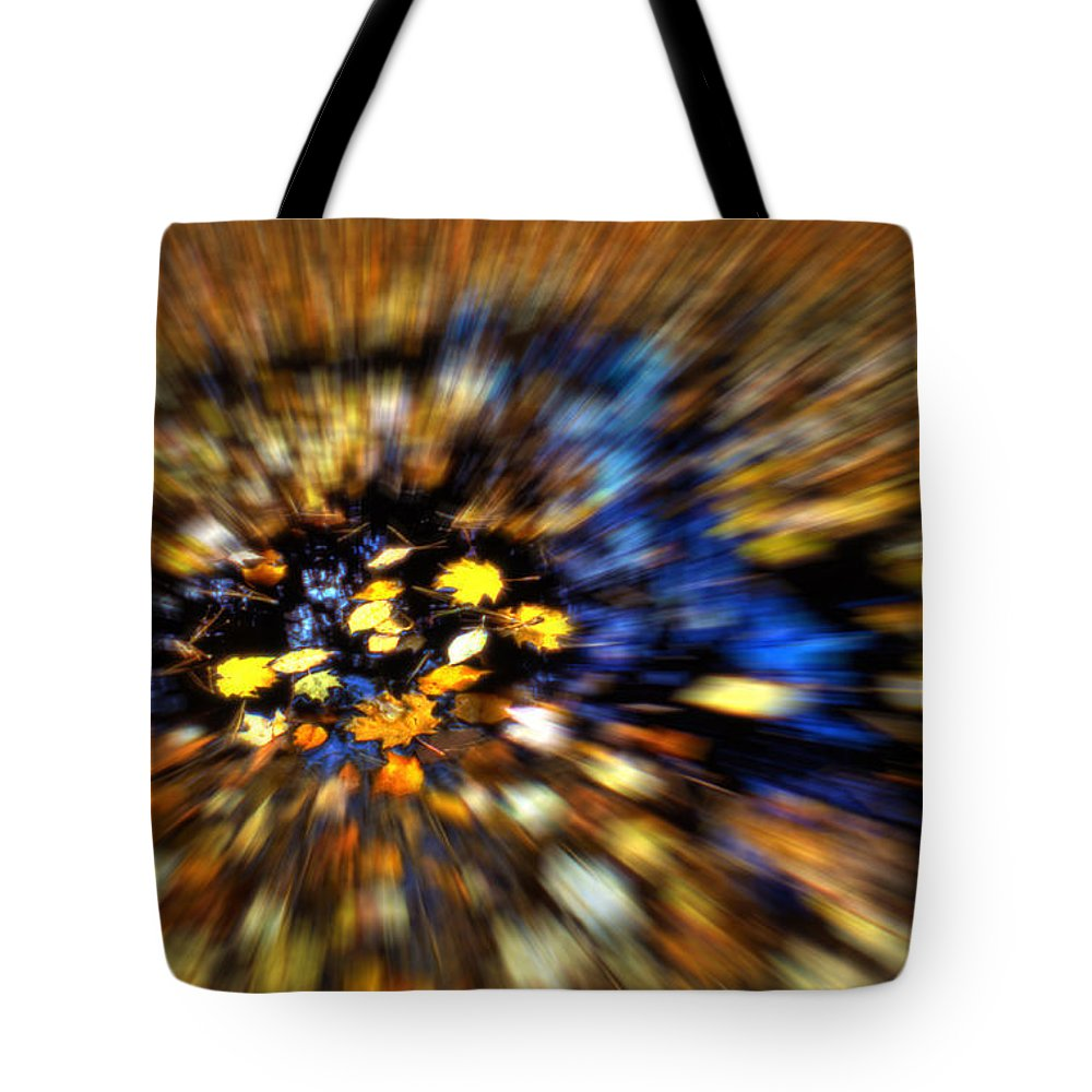 Autumn Tote Bag featuring the photograph A Rush Of Autumn by Wayne King