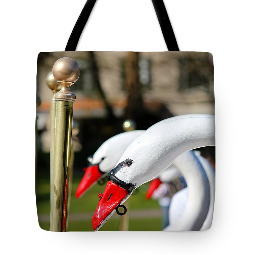 Boston Tote Bag featuring the photograph A Sign Of Spring by Beverly Tabet