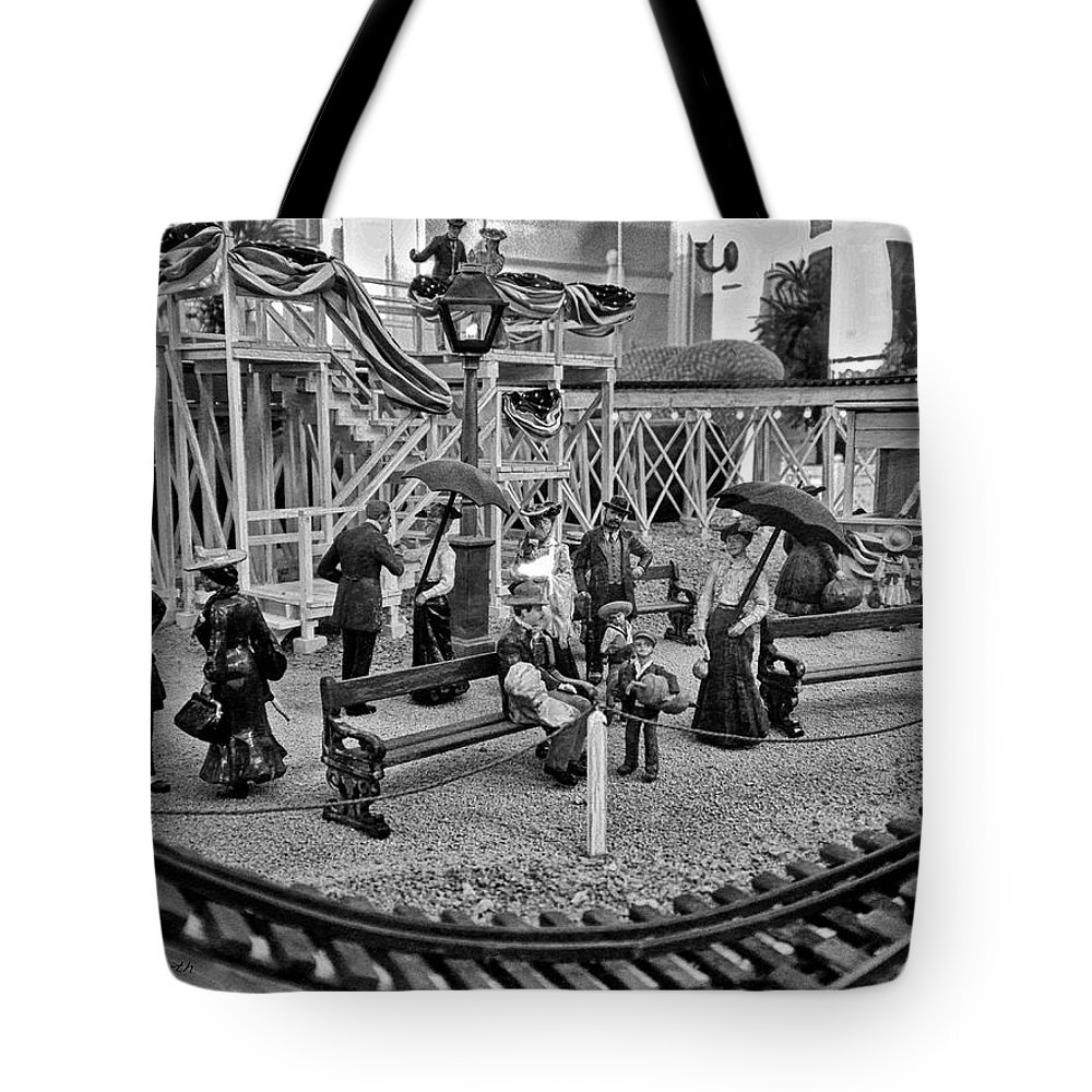 People Tote Bag featuring the photograph A Simpler Way Of Life Sunday Morning by Thomas Woolworth