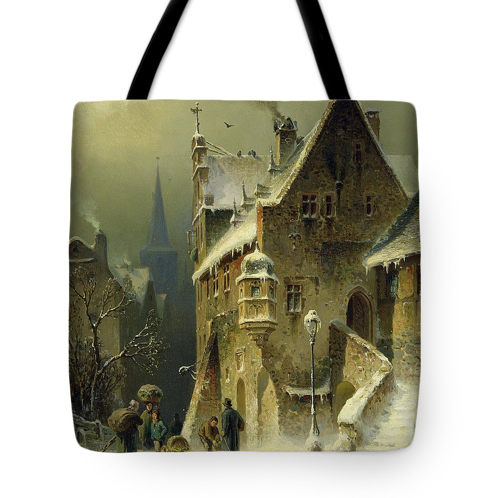 Roof Tote Bags