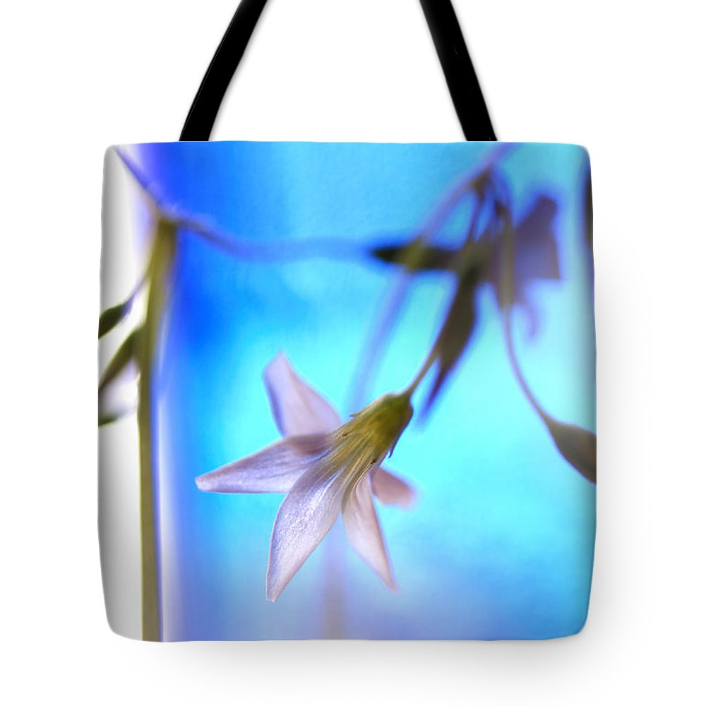 Shamrock Tote Bag featuring the photograph A Spring Thing by Susan Capuano
