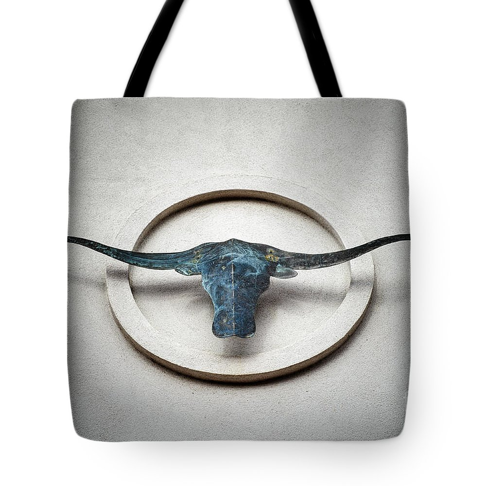 Ancestral Tote Bag featuring the photograph A U R O C H S by Charles Dobbs