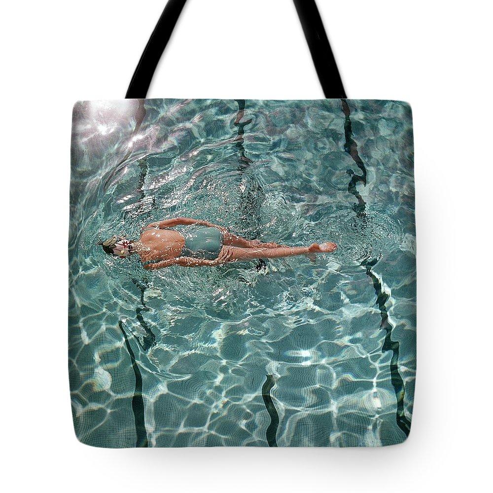 Swimming Pool Tote Bags