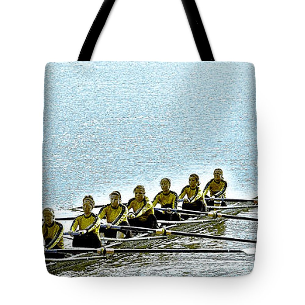 Digital Photography Tote Bag featuring the photograph A2230044 Ragatta by David Fabian