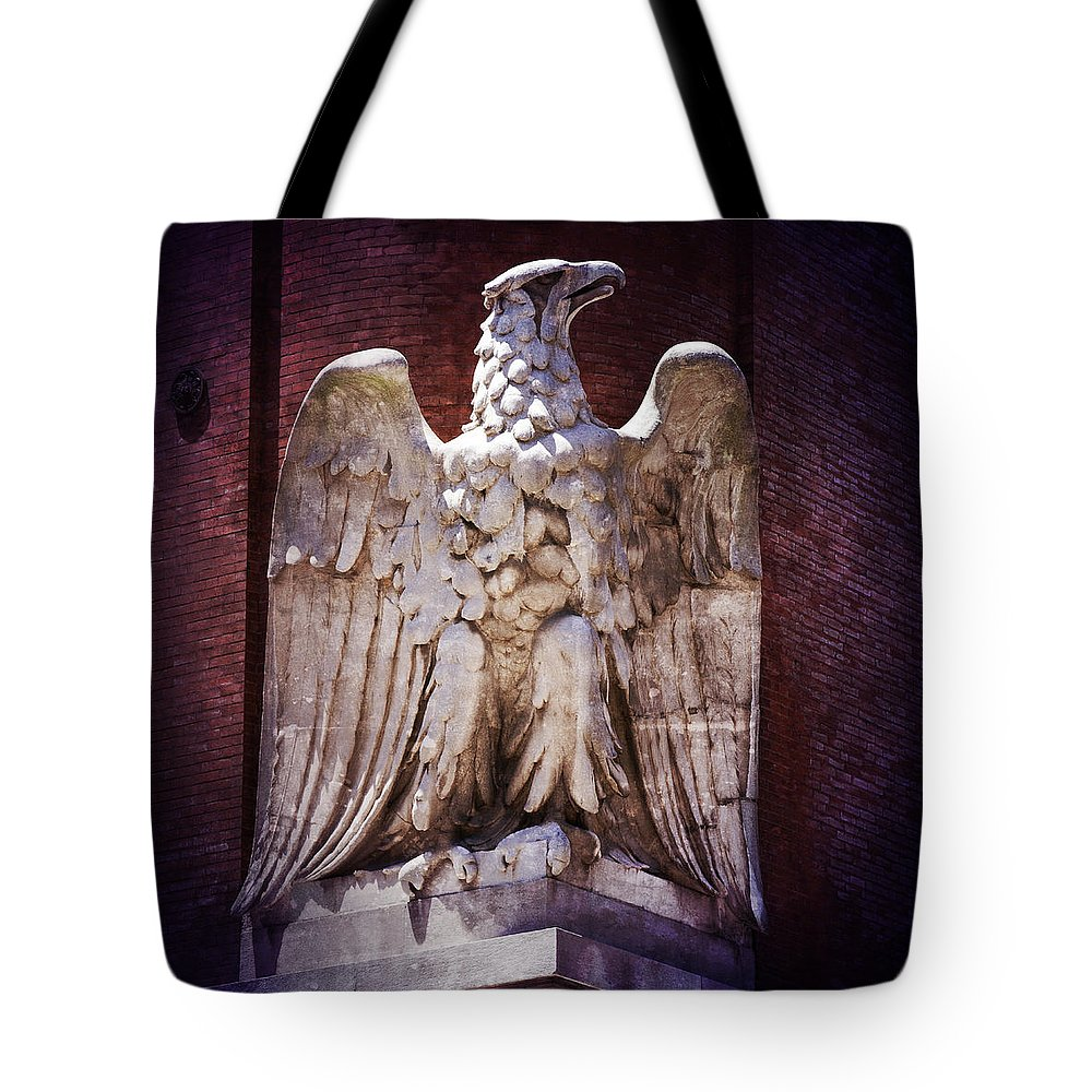 Brewery Tote Bag featuring the photograph Ab Eagle St. Louis Brewery by Greg Kluempers
