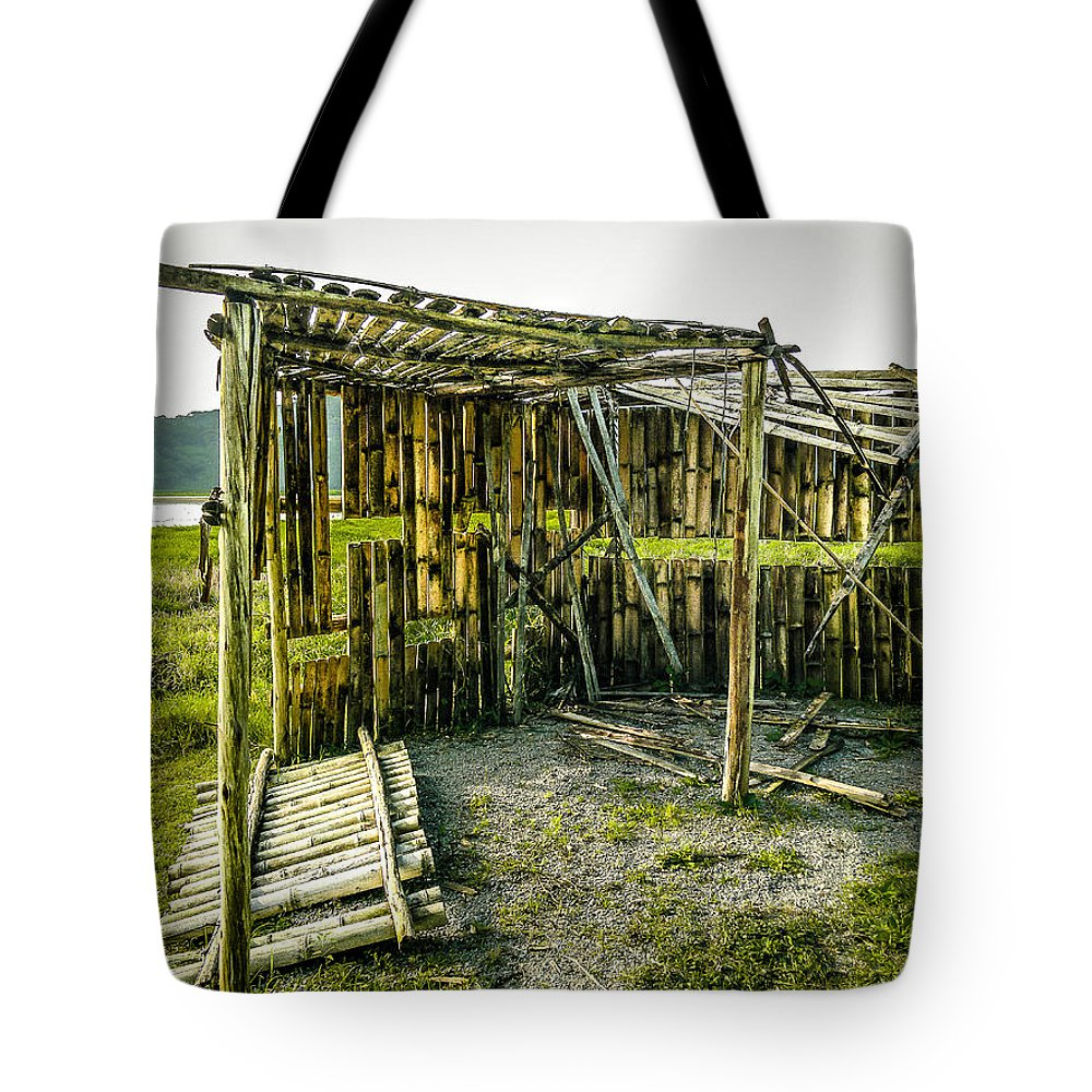Bird Tote Bag featuring the photograph Abandoned Bird Observatory by Fabio Giannini