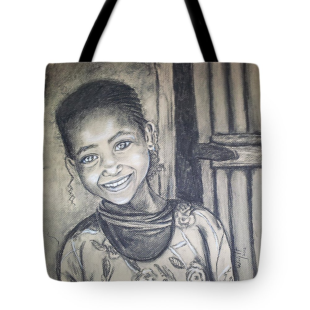 Beautiful Tote Bag featuring the drawing Abandoned Charcoal by Debbie Wright Swisher