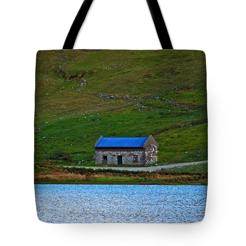 Fine Art Photography Tote Bag featuring the photograph Abandoned by Patricia Griffin Brett