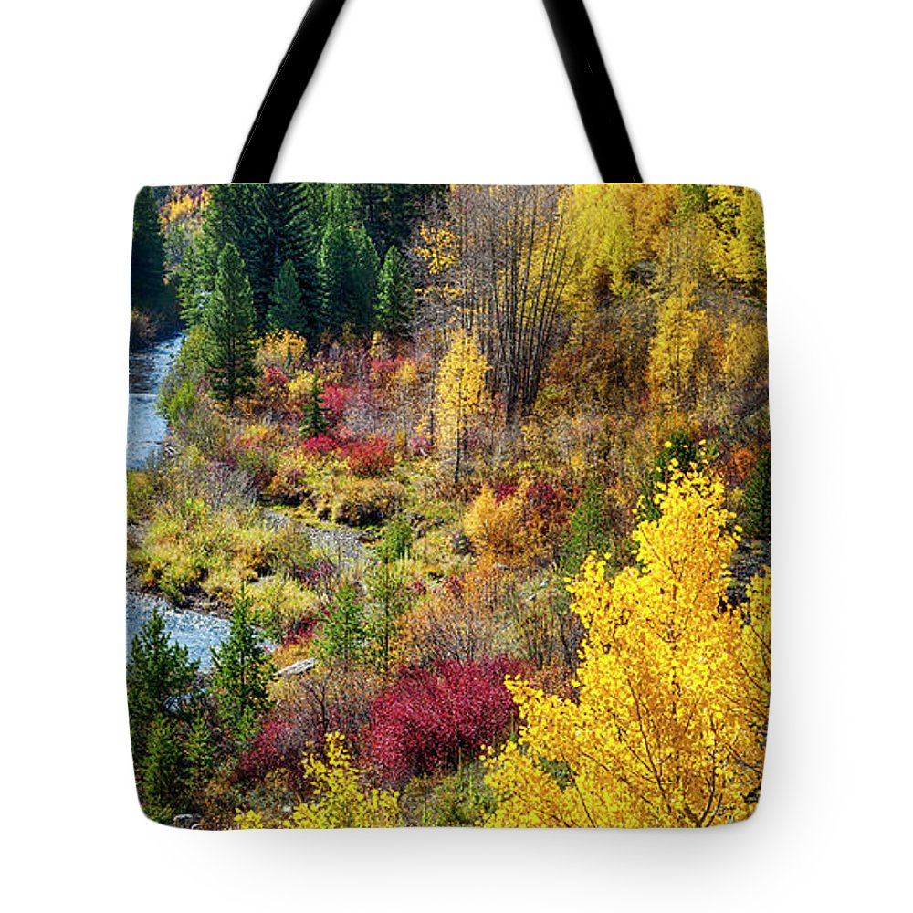 Scenics Tote Bag featuring the photograph Abandoned Railway by C. Fredrickson Photography