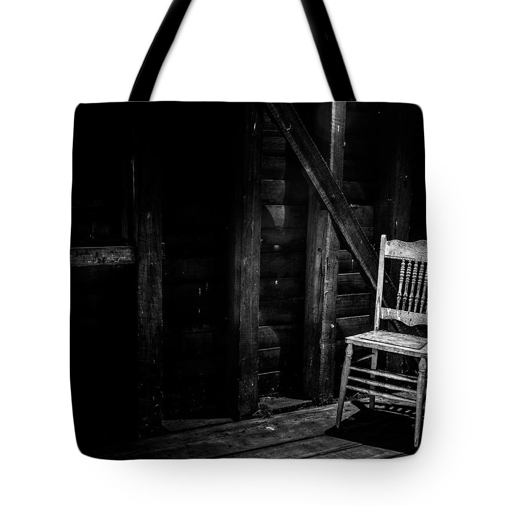 Chair Tote Bag featuring the photograph Absentia by Kaleidoscopik Photography