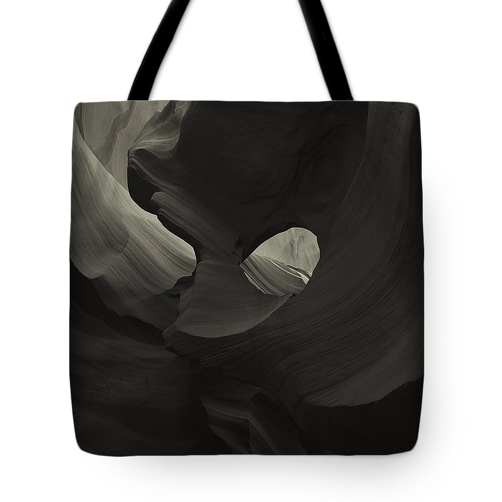 Abstract Tote Bag featuring the photograph Abstract 1 by Ingrid Smith-Johnsen