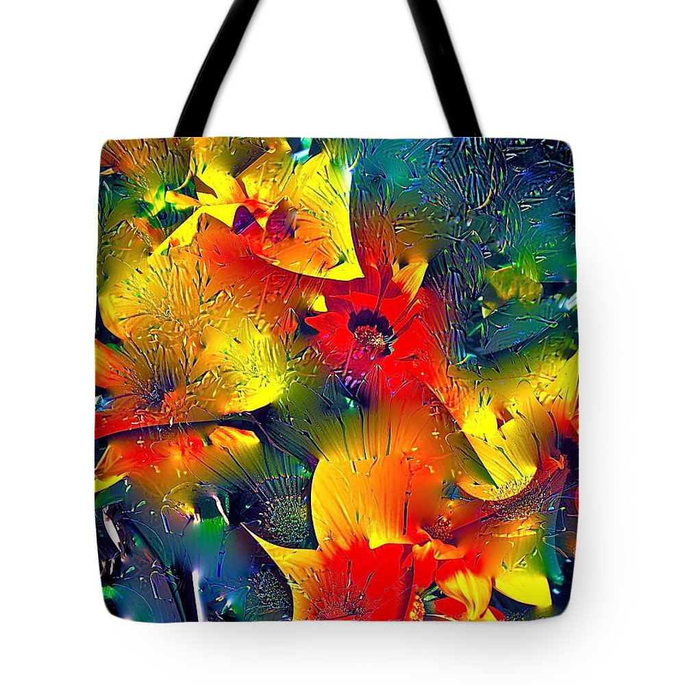 Abstract Tote Bag featuring the photograph Abstract 69 by Pamela Cooper