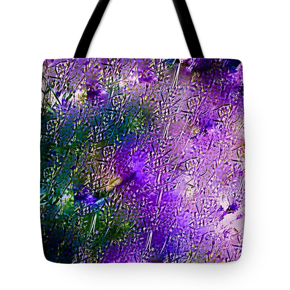 Abstract Tote Bag featuring the photograph Abstract 77 by Pamela Cooper