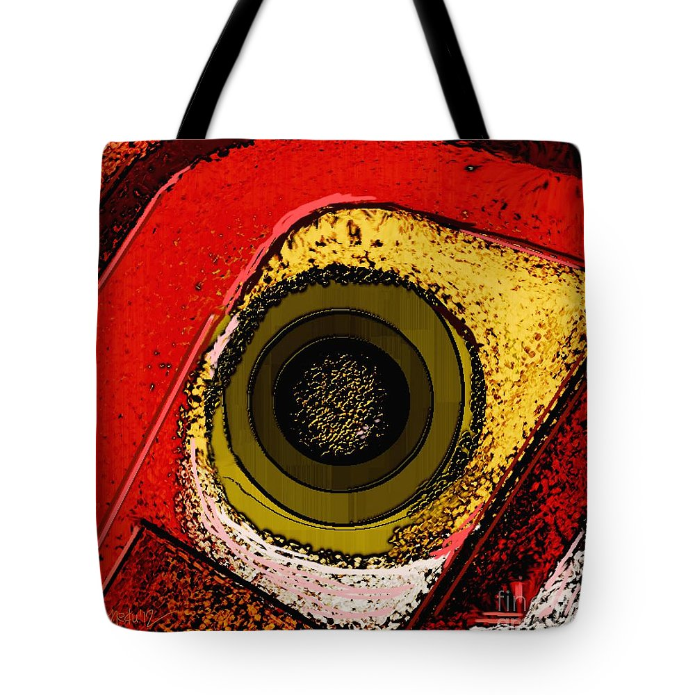 Art Tote Bag featuring the painting Abstract 844 by Nedunseralathan R