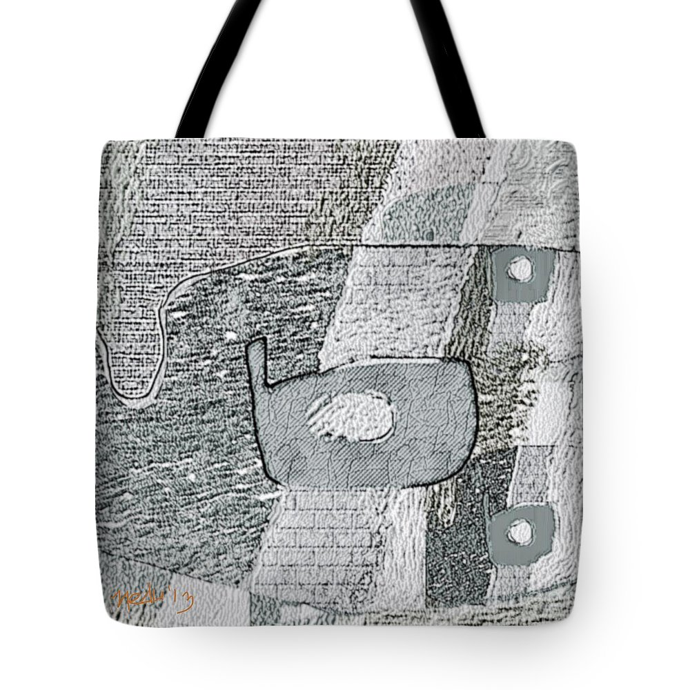 Art Prints Tote Bag featuring the painting Abstract 880 by Nedunseralathan R