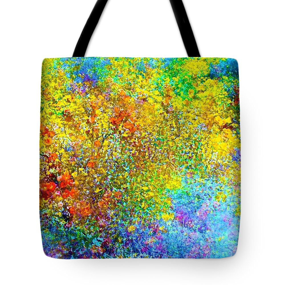 Abstract Tote Bag featuring the photograph Abstract 96 by Pamela Cooper