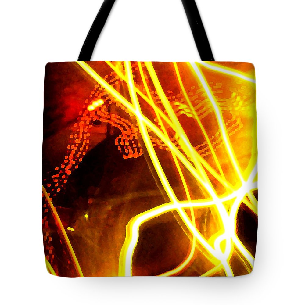 Abstract Tote Bag featuring the photograph Abstract by Amanda Barcon