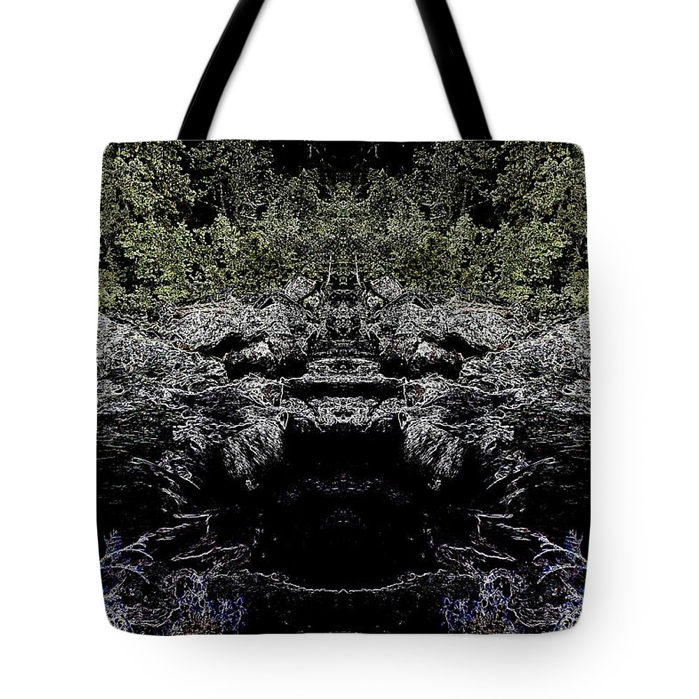 Tote Bag featuring the photograph Abstract Kingdom by Jeff Swan