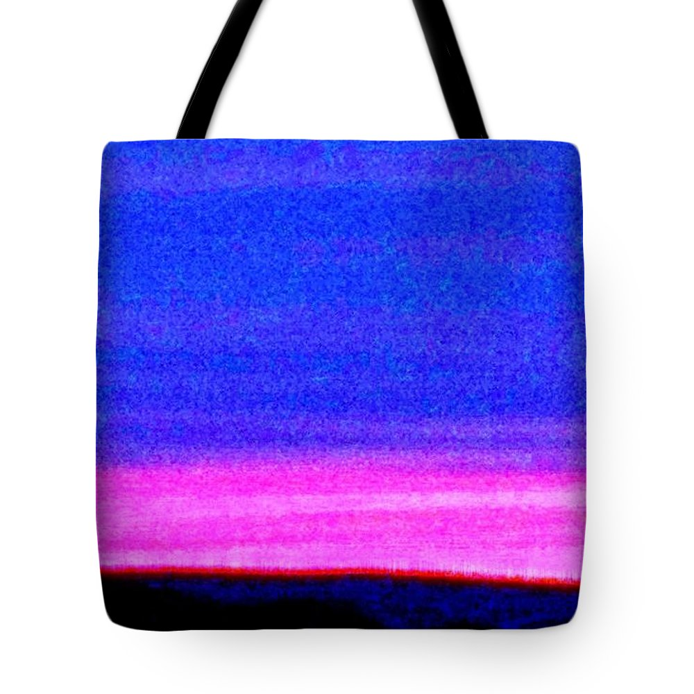 Abstract Tote Bag featuring the photograph Abstract Landscape by Eric Schiabor