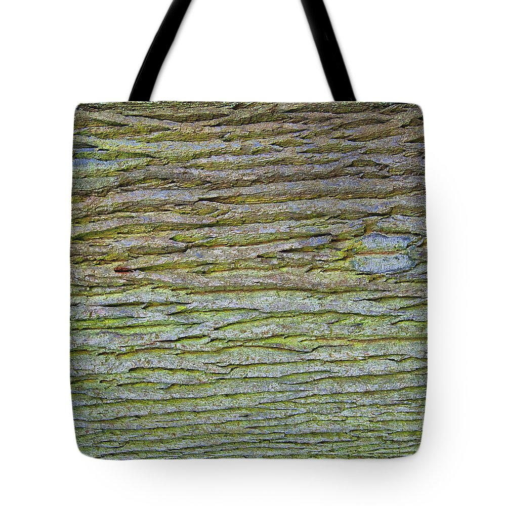 Old Tote Bag featuring the photograph Abstract Oak by Antony McAulay