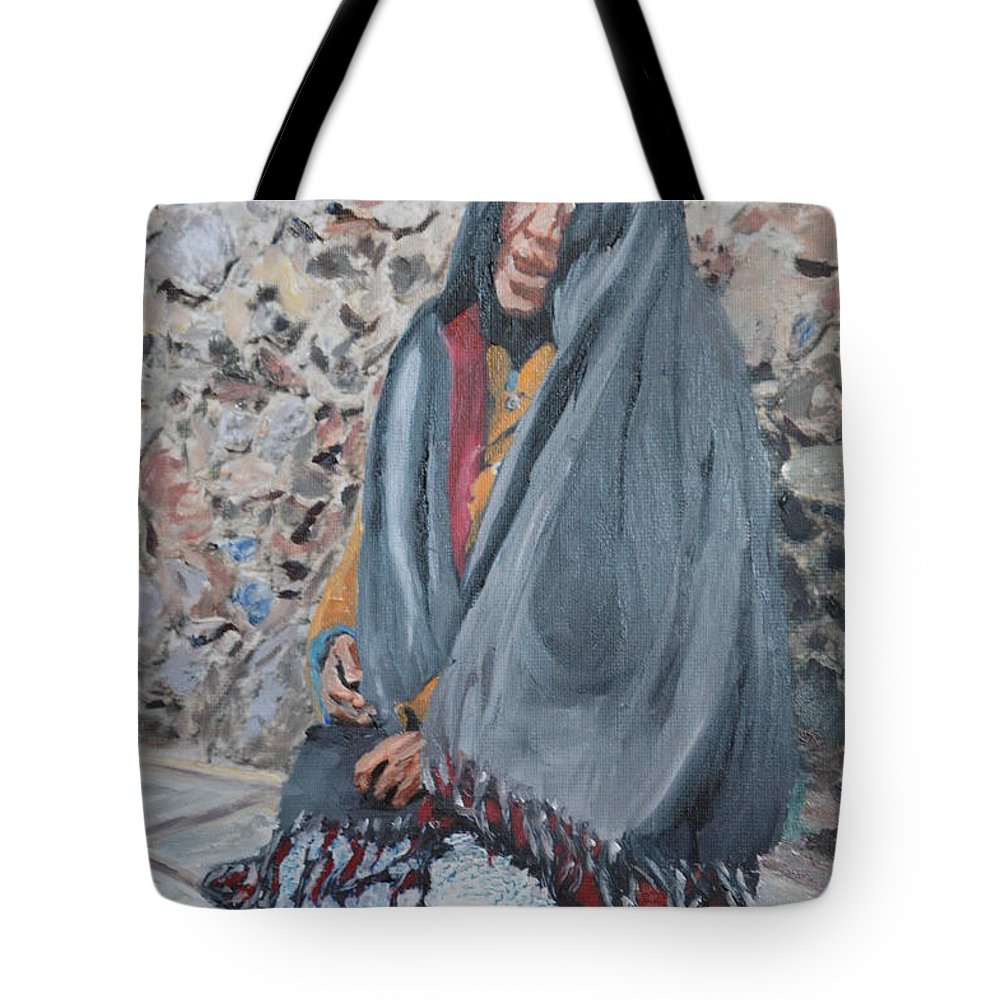 Abuela Tote Bag featuring the photograph Abuela Solamente by Brian Boyle