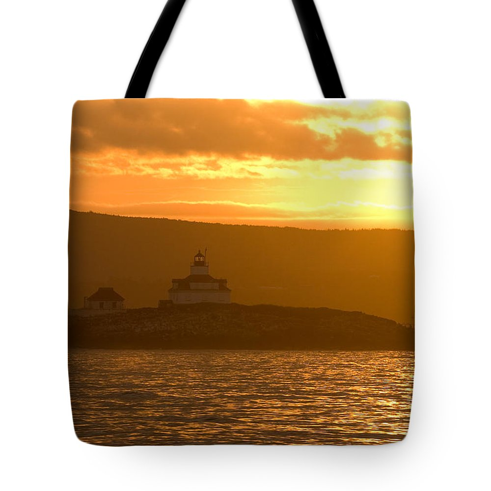 Acadia National Park Tote Bag featuring the photograph Acadia Lighthouse by Sebastian Musial
