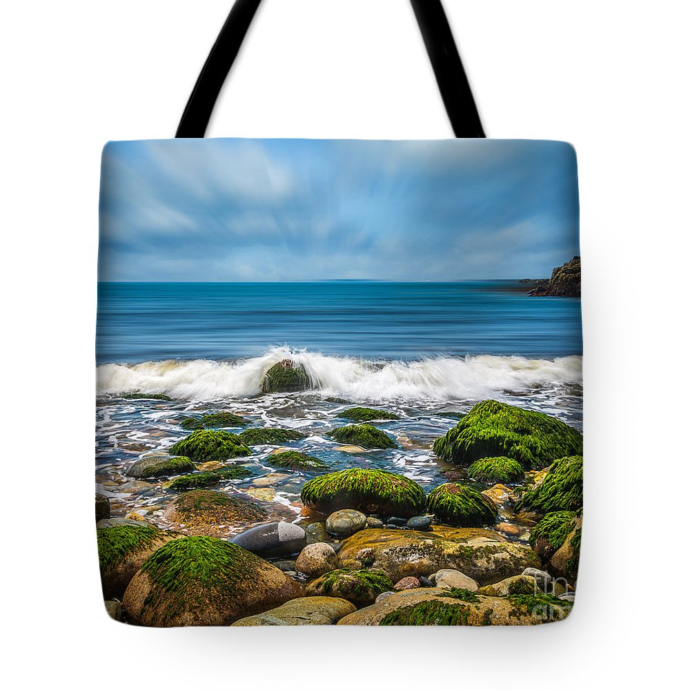 Acadia National Park Tote Bag featuring the photograph Acadia Ocean Breeze by Susan Cole Kelly