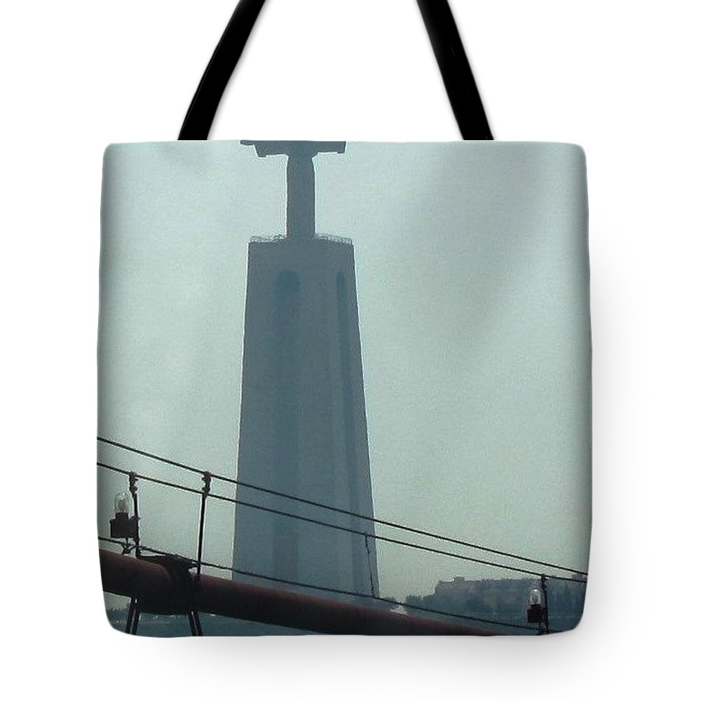 Portugal Tote Bag featuring the photograph Acceptance by Teresa Ruiz