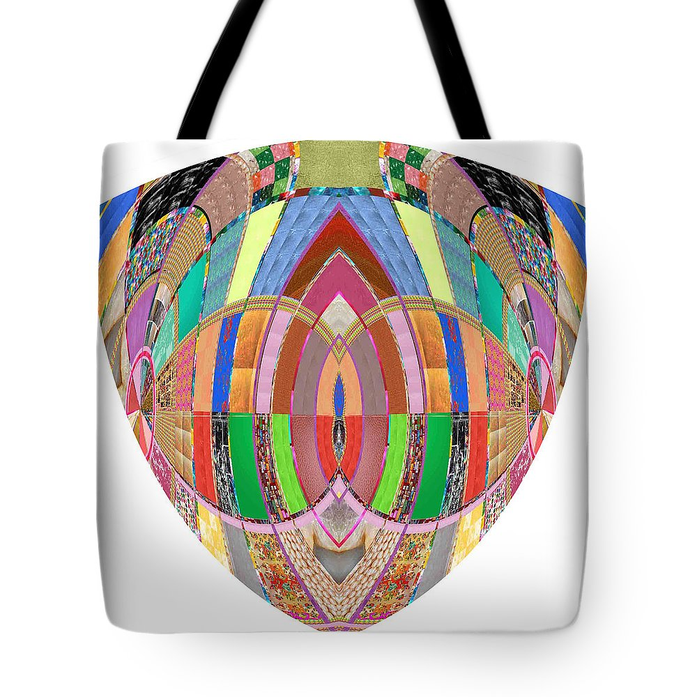 Bossom Breasts Vegina Erotic Heart Tote Bag featuring the photograph Accidental Art Visualizations Female Hands Loosen Their Shield On Bossoms And More Beneth It by Navin Joshi