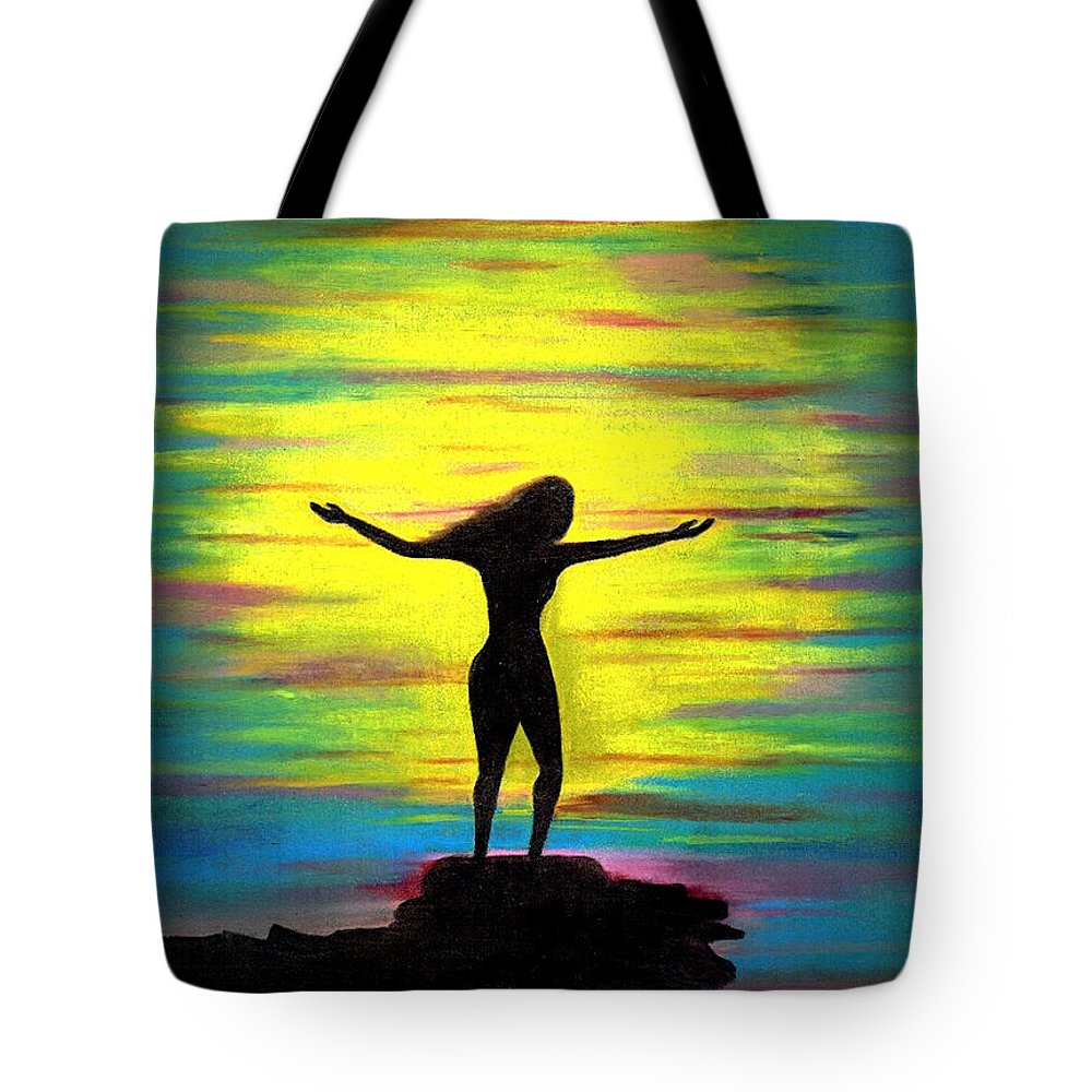 Nude Tote Bags