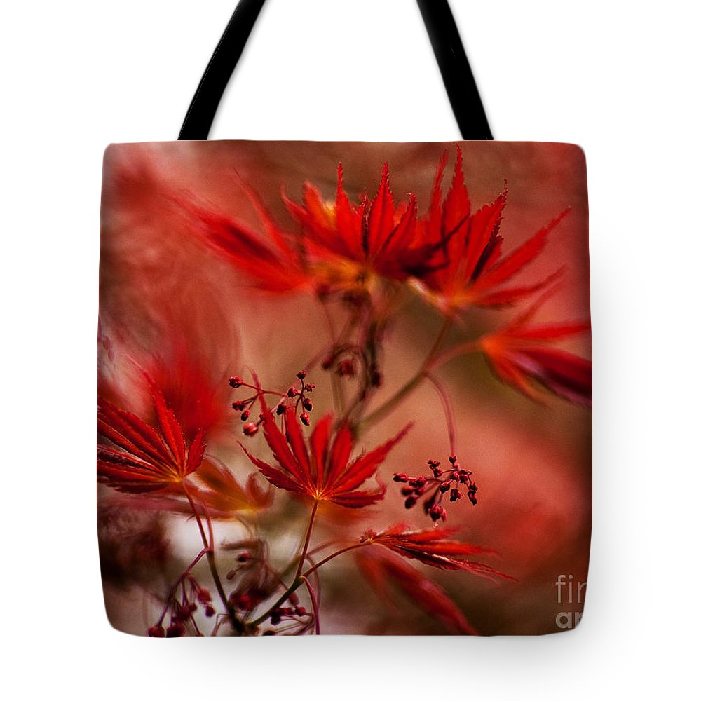 Acer Tote Bag featuring the photograph Acer Storm by Mike Reid
