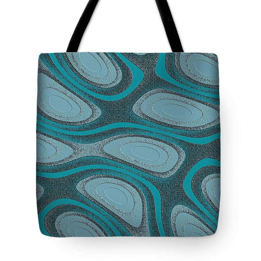 Chaos Tote Bag featuring the digital art Acrescentado by Jeff Iverson