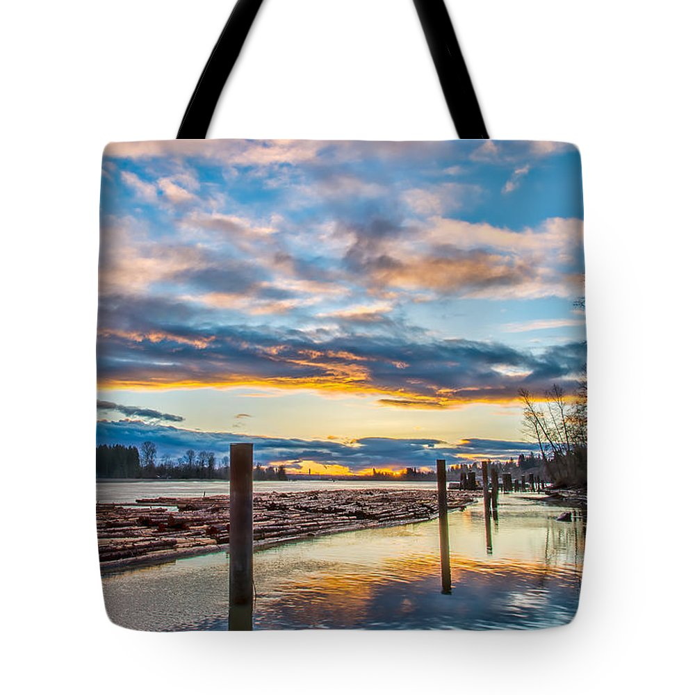 Beautiful Tote Bag featuring the photograph Across The Road by James Wheeler
