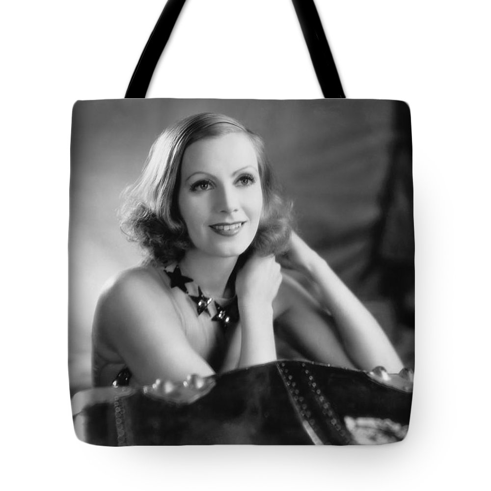 1920's Tote Bag featuring the photograph Actress Greta Garbo by Underwood Archives