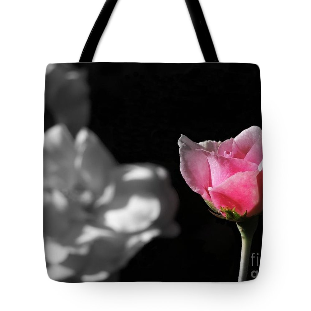 Rose Tote Bag featuring the photograph Admiration by Renee Trenholm